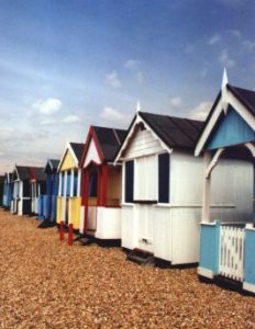 Beach Huts at Southend