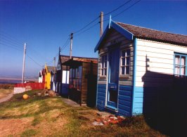 Beach Huts at Westward Ho!