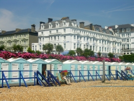 Beach Huts in Eastbourne